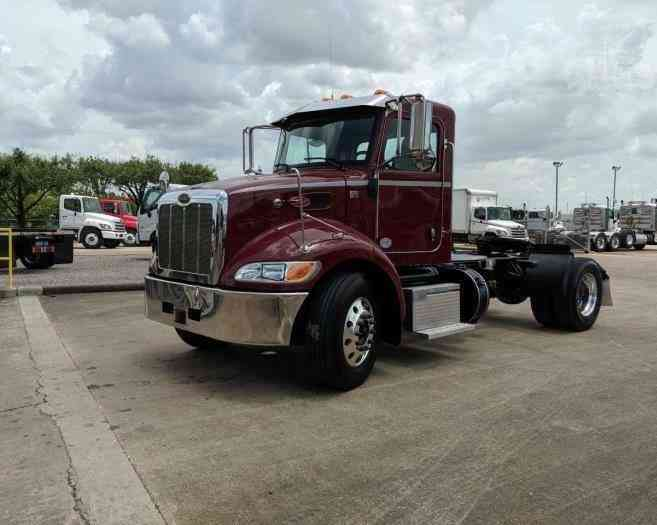 PETERBILT DAY CAB SEMI-SINGLE AXLE TRACTOR CUMMINS 330HP AUTO- FINANCING (2019)